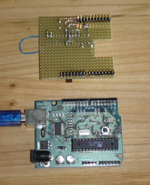 Arduino and separate sid controllerbottom view